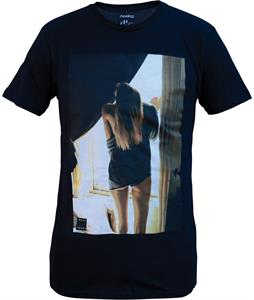 Analog Window Girl T-Shirt Black
