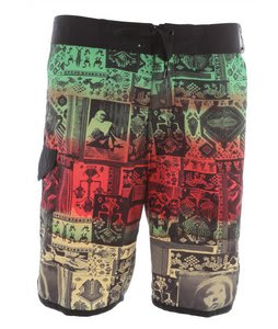 Analog Zulu Boardshorts Rasta