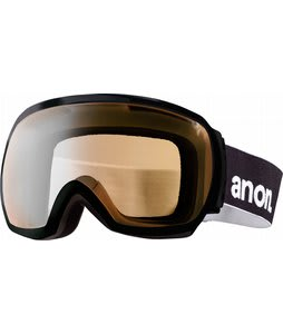 Anon Comrade Painted Goggles Black/Silver Amber Lens