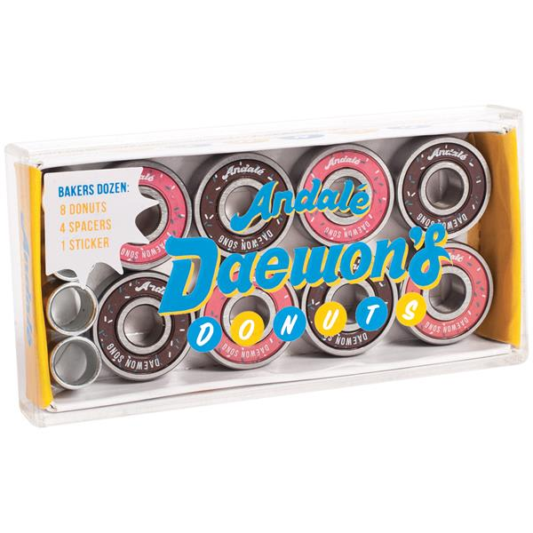 Andale Daewons Donut Box Skateboard Bearings