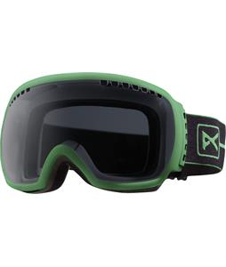 Anon Comrade Painted Goggles Green/Dark Smoke Lens