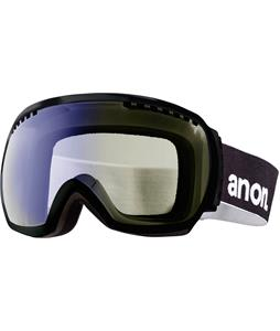 Anon Comrade Painted Asian Fit Goggles Black/Blue Lagoon Lens