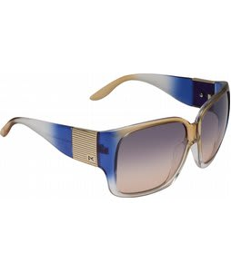 Anon Fashionably Late Sunglasses Blue Tan Crystal/Blue Tan Gradient Lens