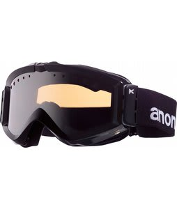 Anon Figment Painted Goggles Black/Silver Amber Lens