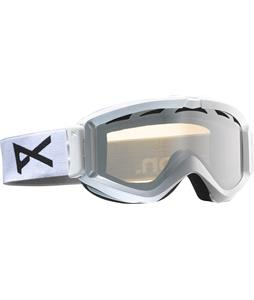 Anon Figment Goggles White/Silver Amber Lens