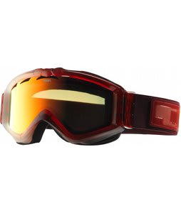 Anon Figment Painted Goggles Red Frost/Red Solex Lens