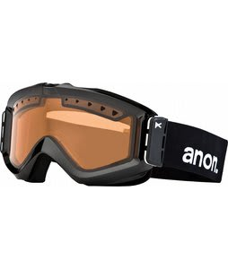 Anon Figment Painted Goggles Black/Amber