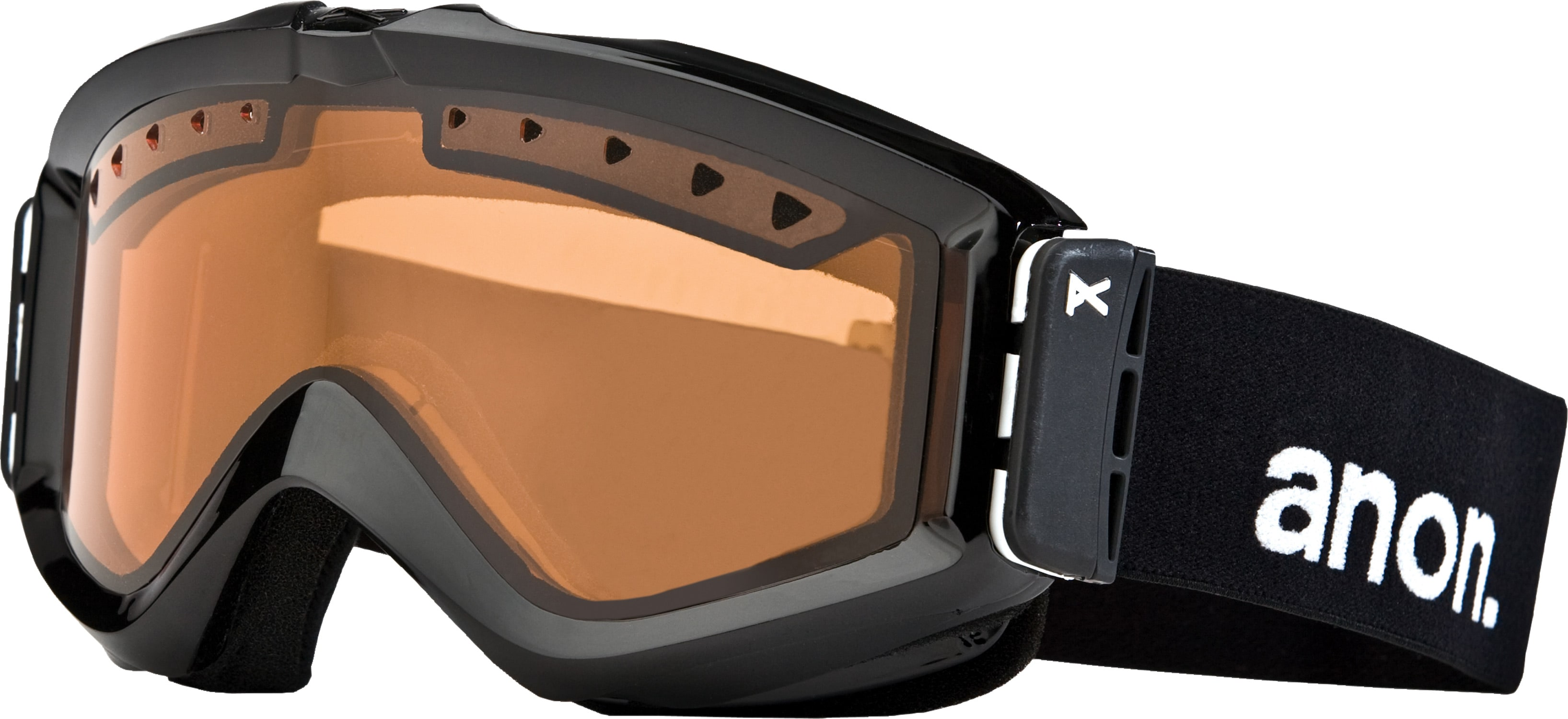 Anon Figment Painted Goggles Black/Amber - Men's