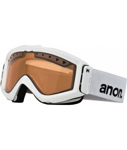 Anon Figment Painted Goggles White/Amber