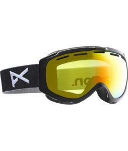 Anon Hawkeye Goggles Black/Red Solex Lens