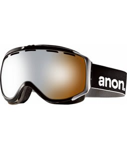 Anon Hawkeye Goggles Black/Silver Amber Lens
