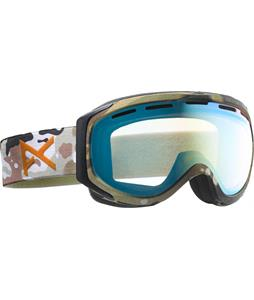 Anon Hawkeye Goggles Dfk/Gold Chrome Lens