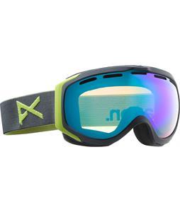 Anon Hawkeye Goggles Slate/Green Solex Lens