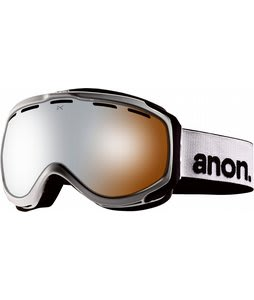 Anon Hawkeye Goggles White/Silver Amber Lens