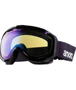 Anon Hawkeye Painted Asian Fit Goggles Black/Blue Lagoon Lens
