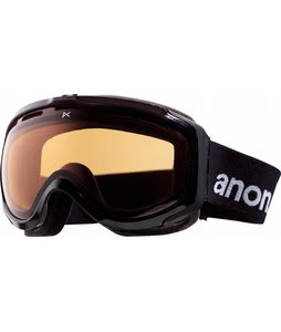 Anon Hawkeye Painted Goggles Black/Amber Lens