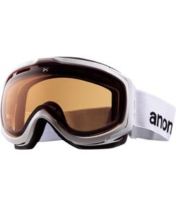 Anon Hawkeye Painted Goggles White/Amber Lens