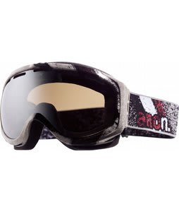 Anon Hawkeye Printed Goggles Streetwise/Silver Solex Lens