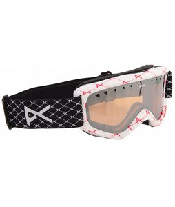 Anon Helix Goggles Printed Mirror White Logonet