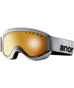 Anon Helix Goggles White/Amber Lens