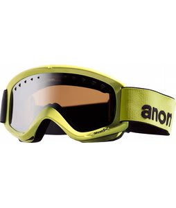 Anon Helix Goggles Green Mirror/Silver Amber Lens