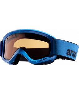 Anon Helix Mirror Goggles Black Mirror/Blue Solex Lens