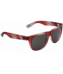 Anon Hollyweird Sunglasses Red Stripe/Grey Lens