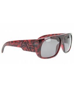 Anon Hombre Sunglasses Red Tortoise/Brown Lens