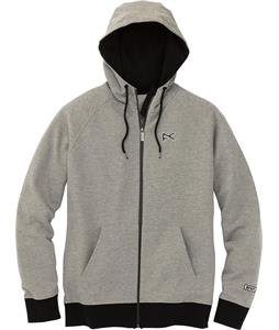 Anon Icon Zip Up Hoodie Heather Gray