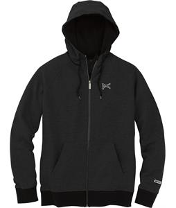Anon Icon Zip Up Hoodie True Black