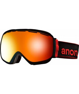 Anon Insurgent Goggles Black/Red Solex Lens