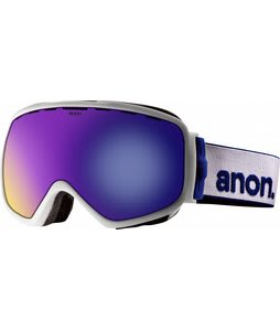 Anon Insurgent Goggles White/Blue Solex Lens