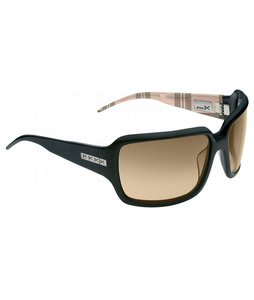 Anon Josie Sunglasses Black Mocha Plaid/Brown Lens