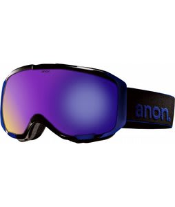 Anon M1 Goggles Black/Blue Solex Lens