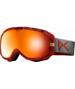 Anon M1 Goggles Crystal King/Red Solex Lens