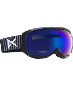 Anon M1 Goggles Stryper/Blue Cobalt Lens