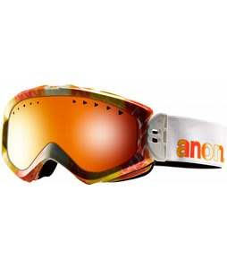 Anon Majestic Goggles Aura/Red Solex Lens