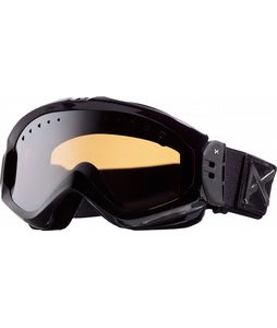 Anon Majestic Painted Goggles Black Emblem/Silver Amber Lens