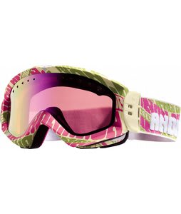 Anon Majestic Printed Goggles Watchtower/Pink Sq Lens