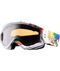 Anon Majestic Printed Asian Fit Goggles Ht Pro/Silver Mirror Lens
