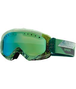 Anon Majestic Goggles Faultline/Green Solex Lens