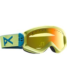 Anon Majestic Goggles Lemondrop/Red Solex Lens