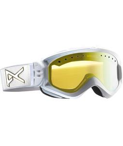 Anon Majestic Goggles White Emblem/Gold Chrome Lens