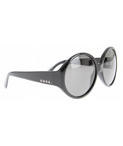 Anon Mary Go Round Sunglasses Black/Grey Lens