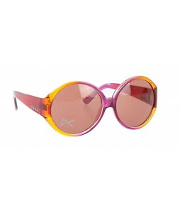 Anon Mary Go Round Sunglasses Raspberry Fade Lens