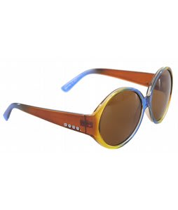 Anon Mary Go Round Sunglasses Blueberry Fade Lens