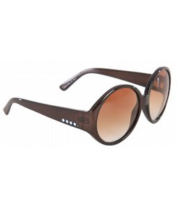 Anon Mary Go Round Sunglasses Brown/Crystal Lens 