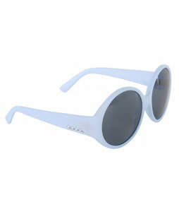 Anon Mary Go Round Sunglasses Matte Baby Blue Lens 