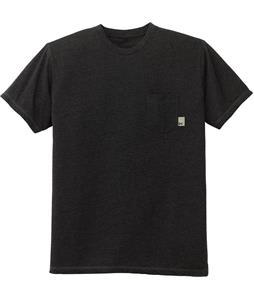 Anon Pocket T-Shirt True Black Heather