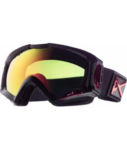 Anon Realm Painted Goggles Black Emblem/Red Solex Lens